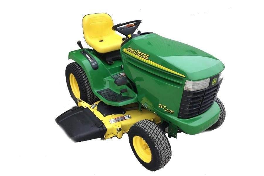 [SCHEMATICS_4UK]  John Deere GT235 Garden Tractor Maintenance Guide & Parts List | John Deere Tractor Wiring Harness Diagram |  | Green Farm Parts