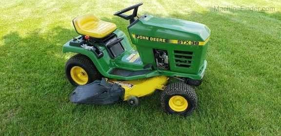 John Deere Stx38 Lawn Tractor Maintenance Guide Parts List