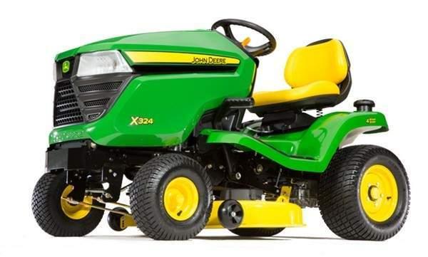 John Deere X324 Lawn Tractor Maintenance Guide & Parts List | X324 Wiring Diagram |  | Green Farm Parts